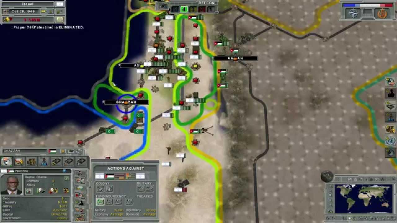Israel Loses The 6 Day War Supreme Ruler Cold War