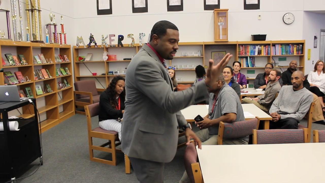 Decker Middle School Principal Jon Bailey Discuss His School's ...