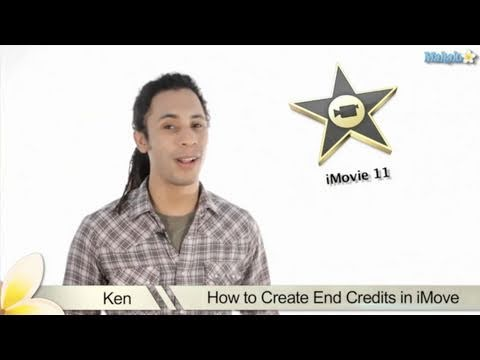 Learn iMovie 11 - Creating End Credits