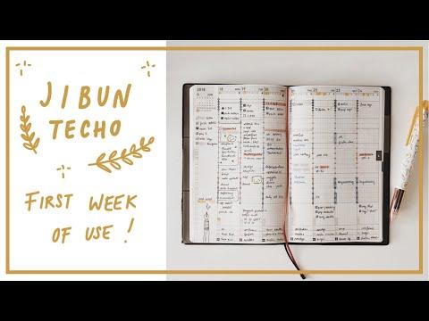 Jibun Techo B6 Slim Biz: First impressions!