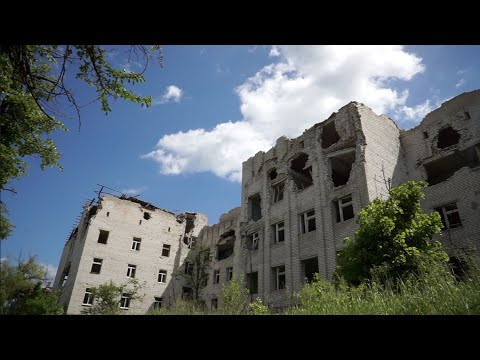 Bombed out and Abandoned Psychiatric Hospital in Slavyansk, Ukraine