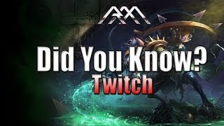 Twitch - Did You Know? - Ep #56 - League of Legends
