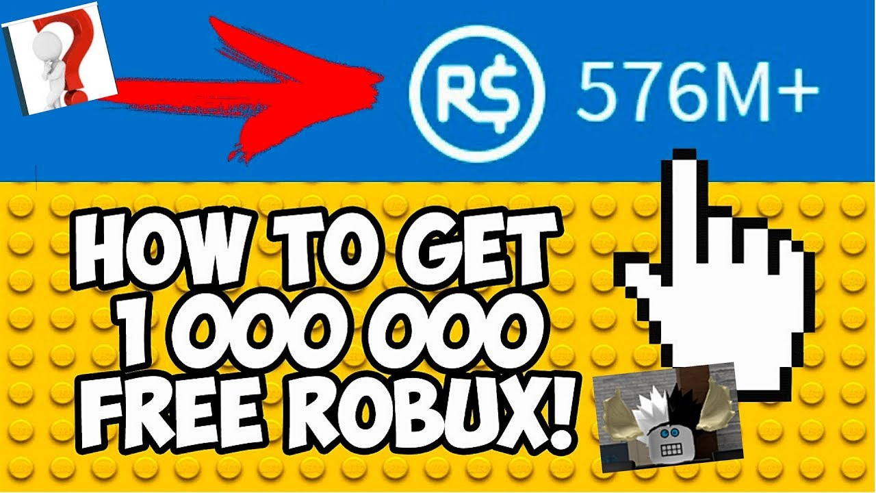 Free 9 Million Robux Roblox How To Get 1000000 Free Robux On Roblox Youtube