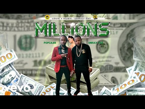 Unruly Cuz, Popcaan - Millions (Official Audio)