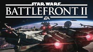 Star Wars Battlefront 2 - Starfighter Assault | Black One Gameplay