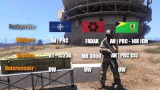 Arma 3 (TFAR) Task Force Arrowhead Radio - Tutorial (german)