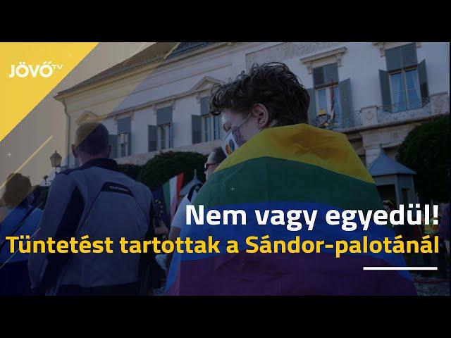 Áder Jánosnak üzentek a pedofilokat és az LMBTQ tagokat összemosó törvény miatt | Jövő TV