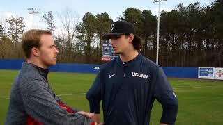 UConn Baseball: Mason Feole at Georgia State Feb. 17, 2018
