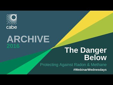 WEBINAR: The Danger Below – Protecting against Radon and Methane