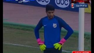 هشام محمد يسجل هدف مصر للمقاصة الثاني في مرمى إنبي