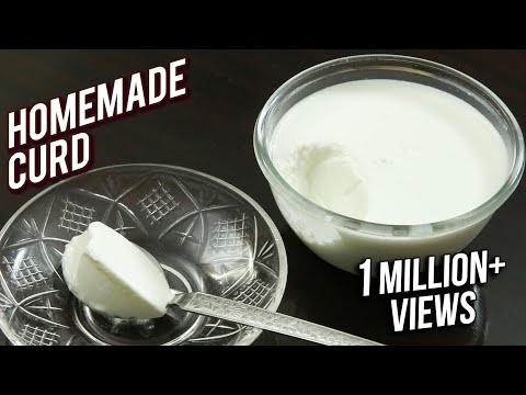 Homemade Curd Recipe - Tips & Tricks To Make Curd At Home - Basic Cooking - Ruchi