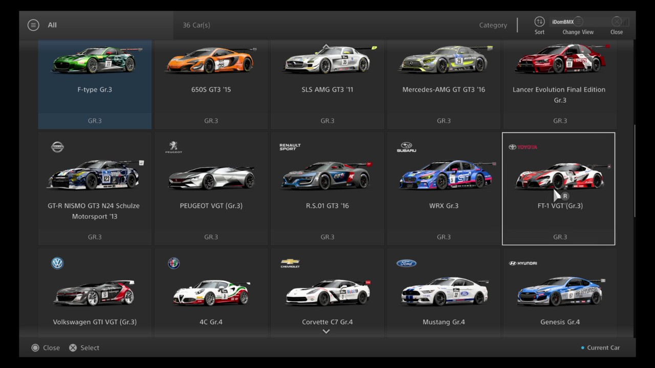 Full Gt Sport Beta Car List You Rh Com Gran Turismo Ps4 Update