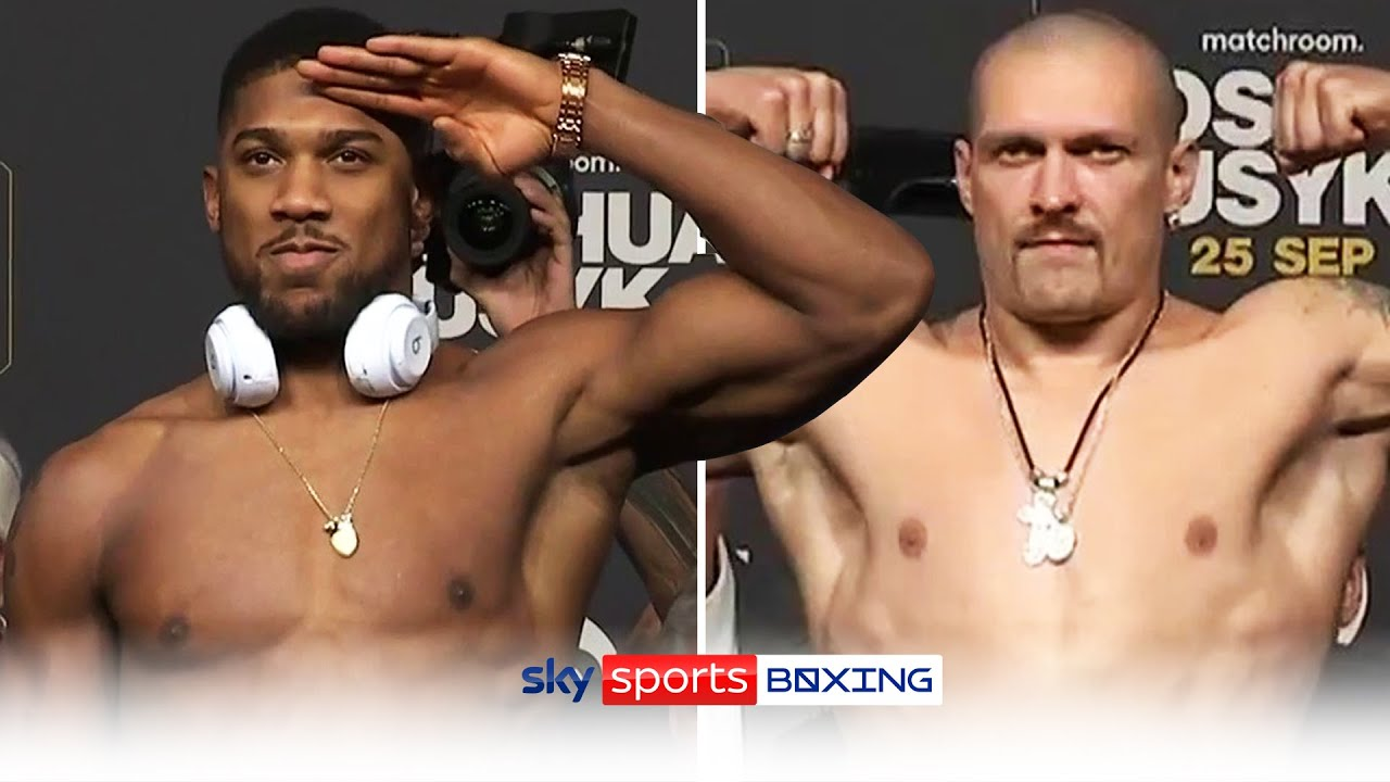 Download WEIGH-IN! Anthony Joshua vs Oleksandr Usyk 💥👊