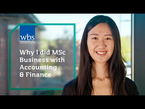 Why I did MSc Business with Accounting & Finance