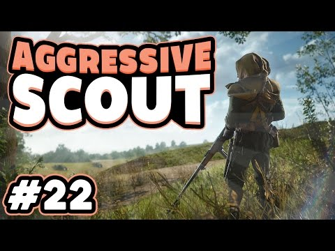 CONSOLE SNIPING! Battlefield 1 Aggressive Scout #22 SMLE Infantry Sniper Gameplay