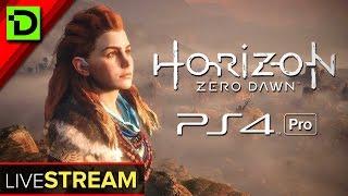 Horizon Zero Dawn (PS4 Pro) - Live Stream