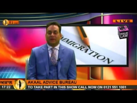 Akaal Advice Bureau with Dr Malik  2nd December 2017