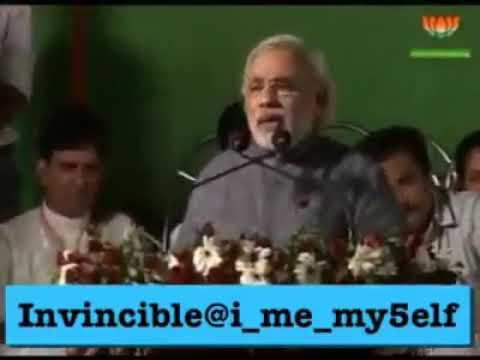 Prime minister Narendra Modi Speech