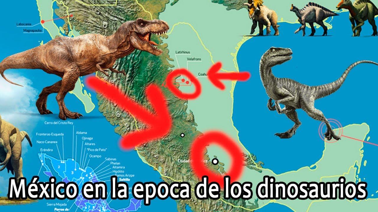 Como Era Mexico En La Epoca De Los Dinosaurios Youtube Descubre miles de vectores premium disponibles en formato ai y. los dinosaurios
