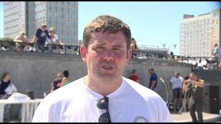 Minsk Strong Battle 2015 Послетурнирное интервью Сергей Лепешко организатор турнира Strongman