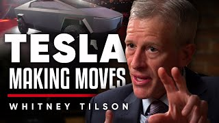 WHAT MOVES ARE TESLA MAKING? The Comparison Between Tesla And Apple - Whitney Tilson On London Real