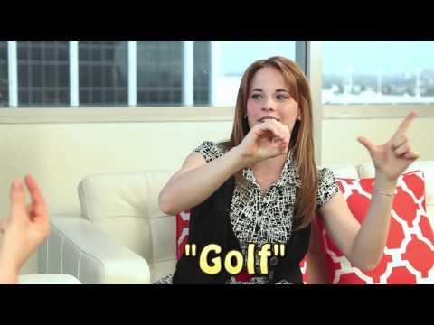 Katie Leclerc Sign Language Lesson