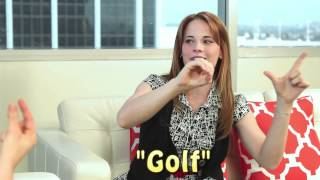 Katie Leclerc Sign Language Lesson