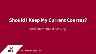 Academic Standing: Should I Keep My Current Courses