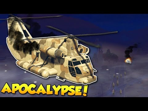HELICOPTER FOUND!? - GTA 5 Zombie Apocalypse Multiplayer Mod Gameplay!