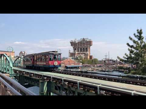 Tokyo DisneySea Electric Railway - American Waterfront to Port Discovery, Left Side Seat