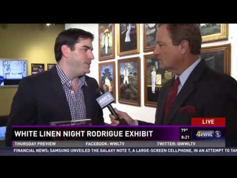The Bayou Collection - 40 Paintings by George Rodrigue - WWL