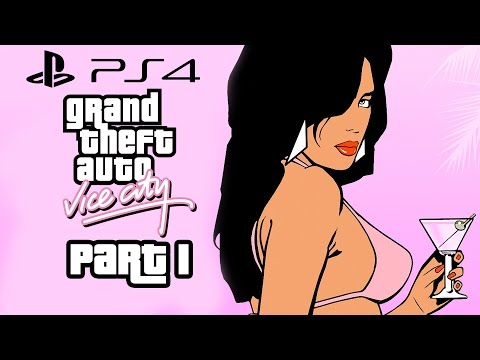 Grand Theft Auto Vice City PS4 Gameplay Walkthrough Part 1 (GTA Vice City PS4)