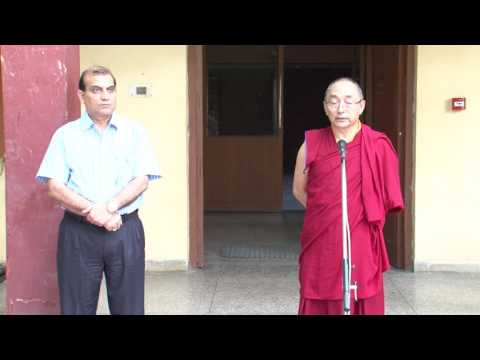 Address by Vice Chancellor of CUTS regarding the status of Tenzin Choeying