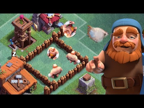 Thumbnail: TRAP GIANTS INSIDE YOUR TROLL BASE | Clash of Clans | Builder Base Funny Fails