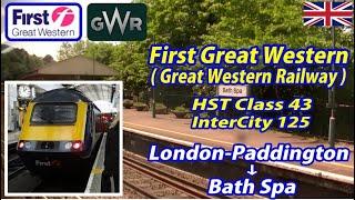 First Great Western HST / London-Paddington → Bath Spa (Passenger's View)