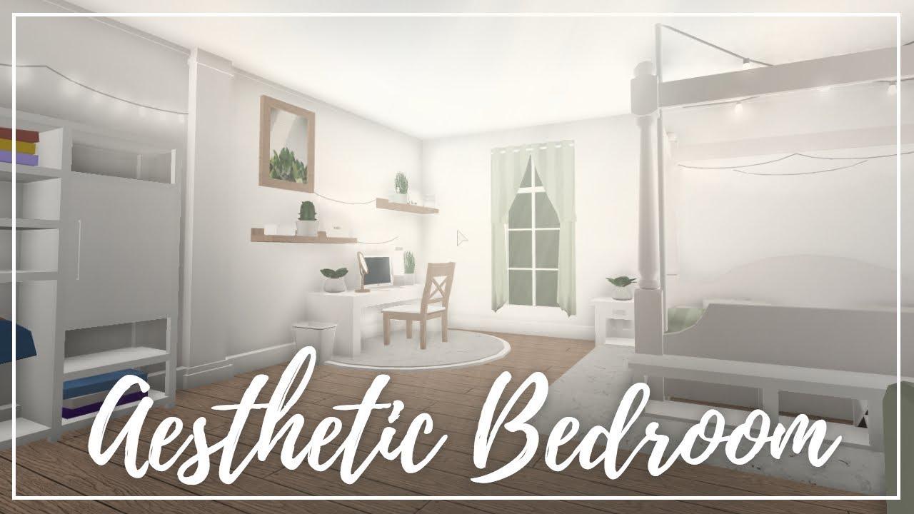 Roblox Welcome To Bloxburg Aesthetic Bedroom Youtube