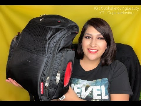What's In My Fisher Price Kaiden Diaper Backpack + Review