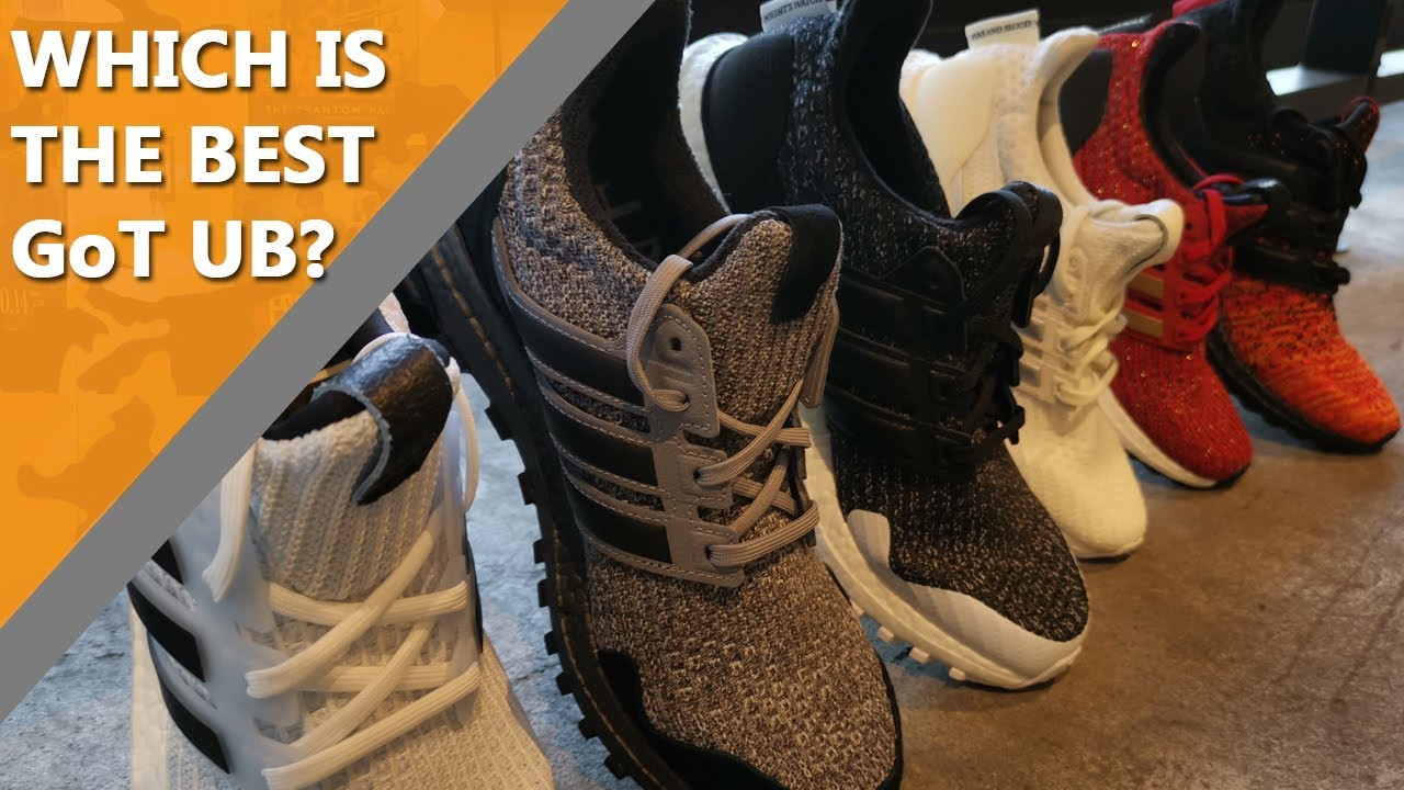 39e75ed99 RANKING the ADIDAS GAME OF THRONES COLLECTION! (ft Duey of Unpacked ...
