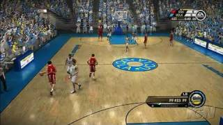 NCAA March Madness 07 Xbox 360 Gameplay - UCLA vs. Ohio
