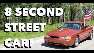 We Ran 8's At Street Car Takeover Charlotte!