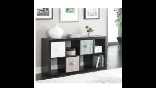 Better Homes and Gardens Furniture 8 Cube Room Organizer Storage Divider Bookcase Espresso