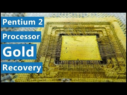💰Make Money with Old Pentium 2 Processors | Old Computers Recycling | Gold Recovery