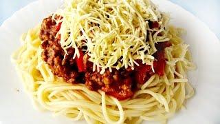 Спагетти Болоньезе. Быстро и вкусно!