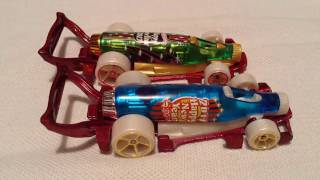 Hot Wheels Carbonator (2017 Holiday Racers - 2017 Happy New Year)