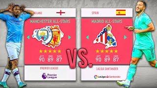 Madrid ALL-STARS vs. Manchester ALL-STARS! - FIFA 20 Career Mode