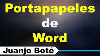 Portapapeles de Word | Curso de Word