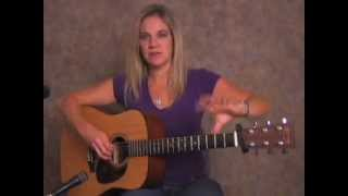 Beginner Spanish  Acoustic Guitar finger Pick  Lesson