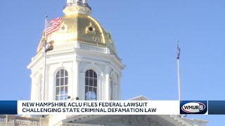 NH ACLU files federal lawsuit challenging state criminal defamation law