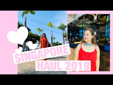 Singapore Shopping Haul | Bugis Street, Charles And Keith, Sephora
