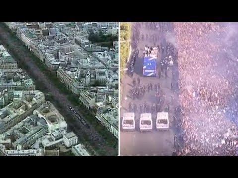 On a comparé le temps passé des Bleus sur les Champs en 2018 et 1998 et ça n'a rien à voir
